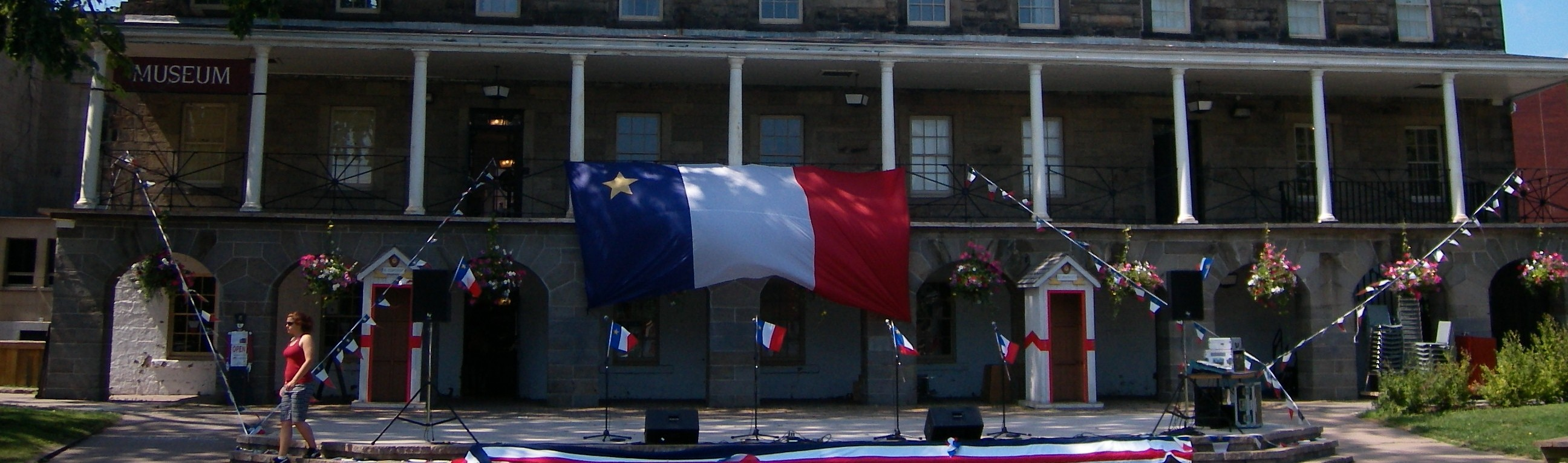 Fredericton Region Museum during Acadian Day Celebrations (August 2009)
