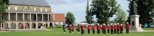 Changing of the Guard Ceremony outside the Fredericton Region Museum (2010)