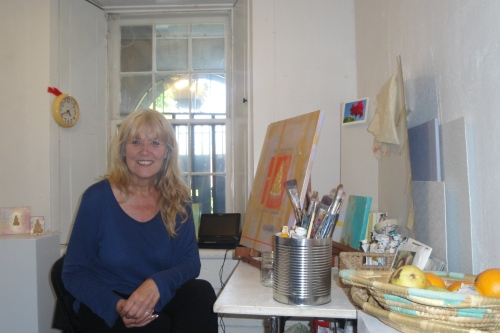 An accomplished contemporary artist, Cavelle will be opening a small arts studio and gallery within the Museum!
