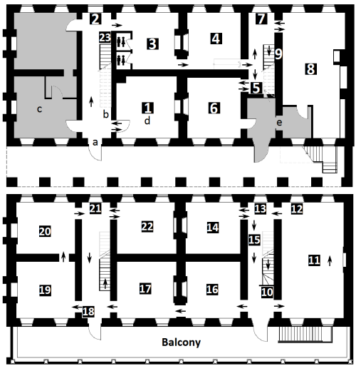 Fredericton Region Museum Floor Plan