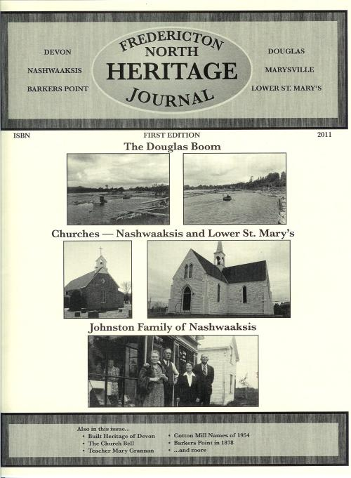 Fredericton North Heritage Journal