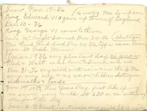 Jennie Pike's Date Diary (1932-1940) - Page 11