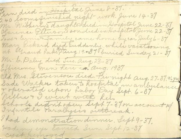 Jennie Pike's Date Diary (1932-1940) - Page 14