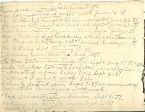 Jennie Pike's Date Diary (1932-1940) - Page 14