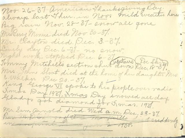 Jennie Pike's Date Diary (1932-1940) - Page 16