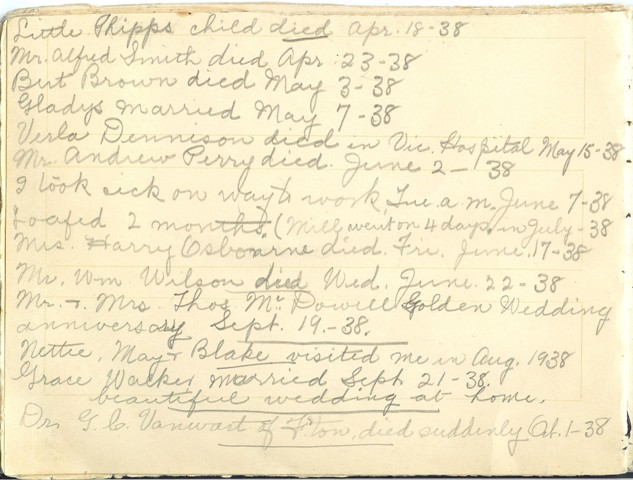 Jennie Pike's Date Diary (1932-1940) - Page 18