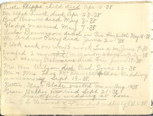 Jennie Pike's Date Diary (1932-1940) - Page 18
