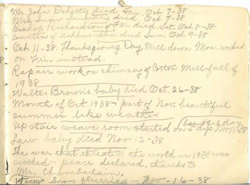 Jennie Pike's Date Diary (1932-1940) - Page 19