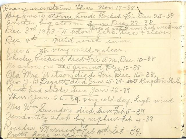 Jennie Pike's Date Diary (1932-1940) - Page 20