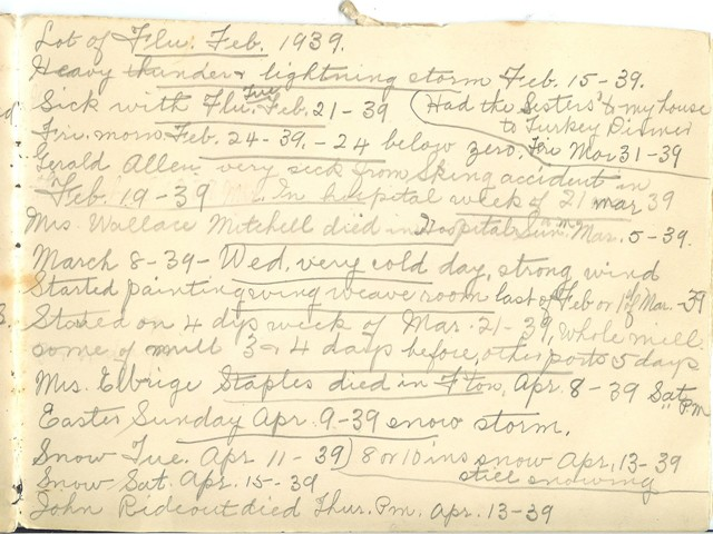 Jennie Pike's Date Diary (1932-1940) - Page 21