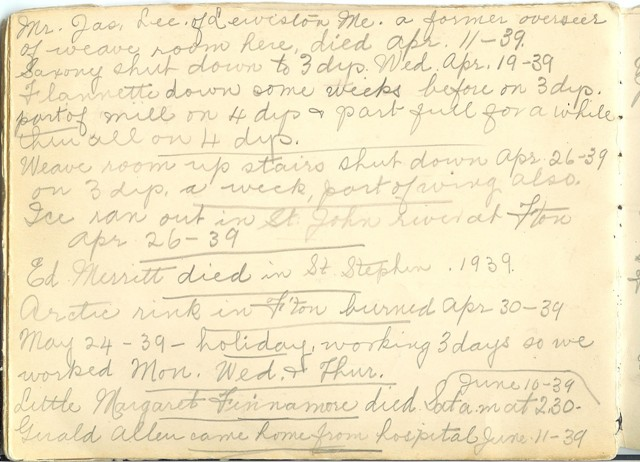Jennie Pike's Date Diary (1932-1940) - Page 22