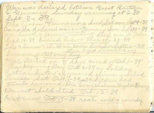 Jennie Pike's Date Diary (1932-1940) - Page 24
