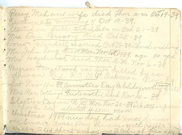 Jennie Pike's Date Diary (1932-1940) - Page 25