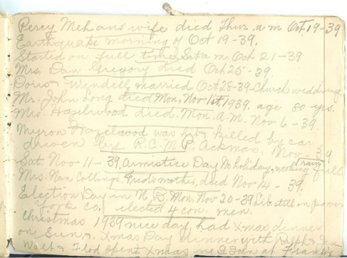Jennie Pike's Date Diary (1932-1940) - Page 25