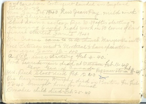 Jennie Pike's Date Diary (1932-1940) - Page 26