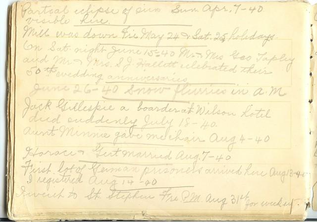 Jennie Pike's Date Diary (1932-1940) - Page 28