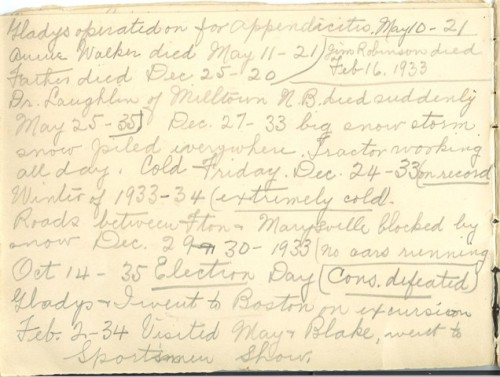 Jennie Pike's Date Diary (1932-1940) - Page 6