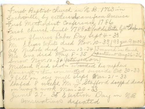 Jennie Pike's Date Diary (1932-1940) - Page 7