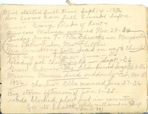 Jennie Pike's Date Diary (1932-1940) - Page 9