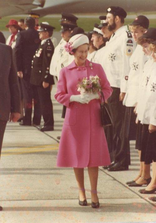 Queen Elizabeth's 1984 Royal Visit to New Brunswick (Canada)