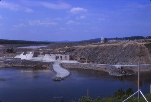 Late-Stage Dam Construction