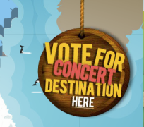 The vote button can be found on the Fun Hunt Map of Canada.  Click on it to go to the voting page