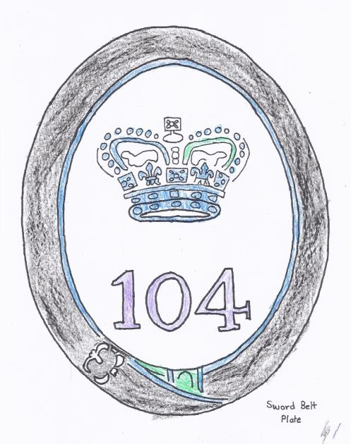 Thank you, Joshua, for colouring a sword plate picture to use on the blog!