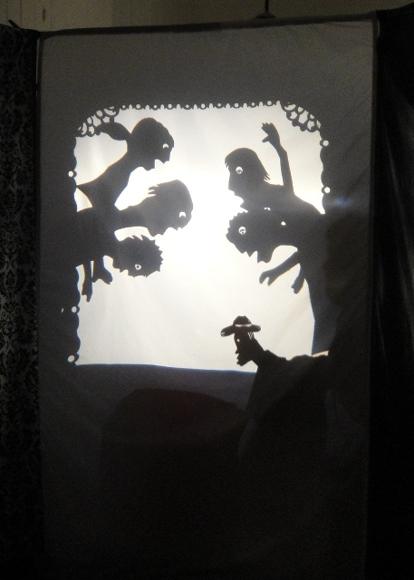 Shadows Show: FRED AND THE FROG, A GREAT FRIENDSHIP