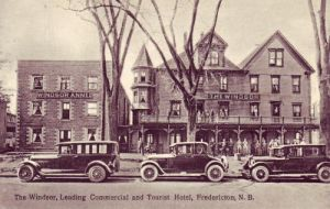 The Windsor Hotel in Fredericton, New Brunswick, Canada.