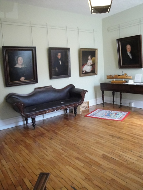 An Assembled Drawing Room for a typical Aristocratic Fredericton Colonial Family Pre-Confederation Time, 2009