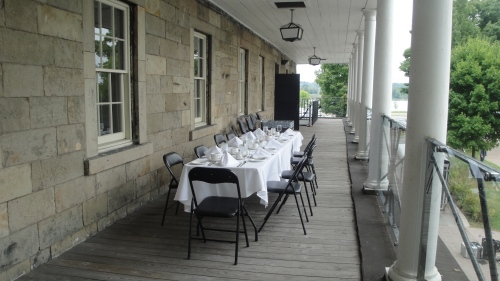 Summer Luncheon on the Balcony, 2012