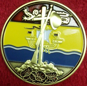 New Brunswick Great War Geocoin - Front
